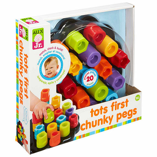 Alex Toys First Chunky Pegs 20-Pc. Interactive Toy