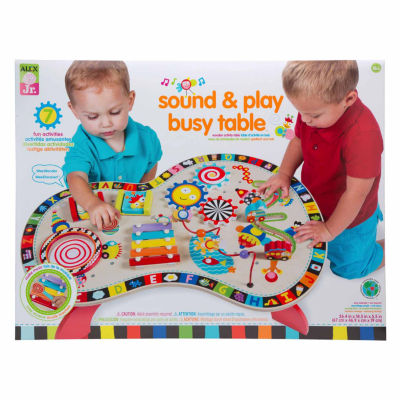 ALEX TOYS Alex Jr Sound And Play Busy Table 2-pc. Interactive Toy - Unisex