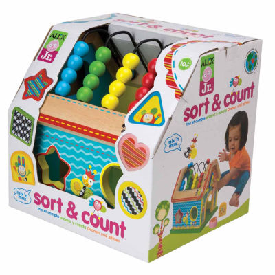 Alex Toys Alex Jr Sort And Count 7-pc. Discovery Toy