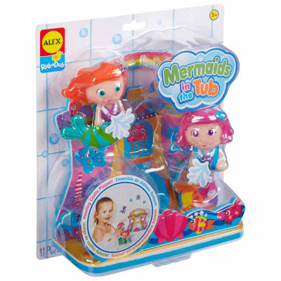 ALEX TOYS Rub A Dub Mermaids In The Tub 3-pc. Toy Playset - Unisex