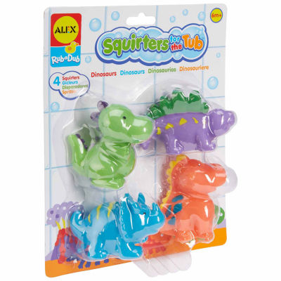 ALEX TOYS Rub A Dub Bath Squirters Dinos 4-pc. Toy Playset - Unisex