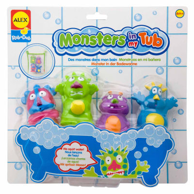 ALEX TOYS Rub A Dub Monsters In My Tub 5-pc. Toy Playset - Unisex
