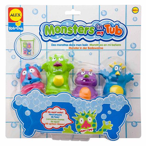 ALEX TOYS Rub A Dub Monsters In My Tub 5-pc. Toy Playset - Unisex