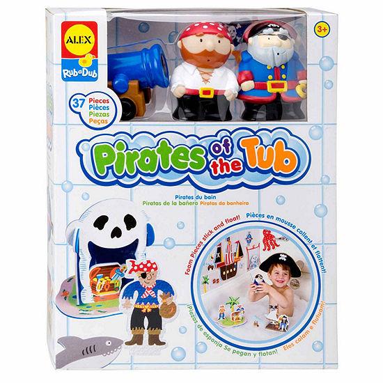 ALEX TOYS Rub A Dub Pirates For The Tub Toy Playset - Unisex