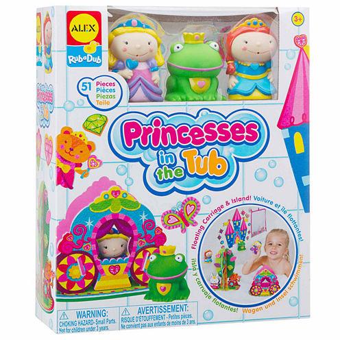 ALEX TOYS Rub A Dub Princesses In The Tub Toy Playset - Unisex