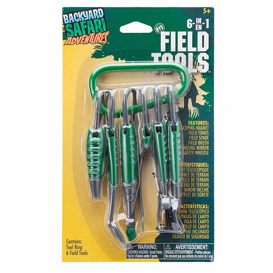 Backyard Safari 6 In 1 Field Tools