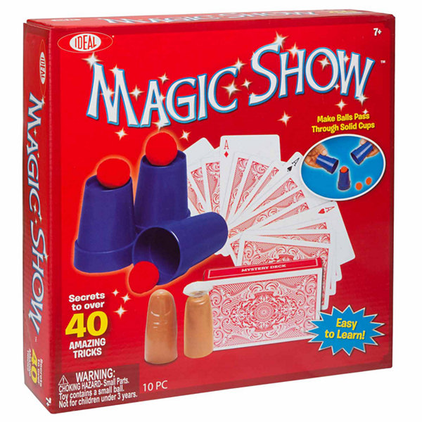 Ideal Ryan Oakes 40 Trick Magic Show Unisex Dress Up Accessory