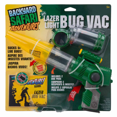 Backyard Safari Lazer Light Bug Vac Unisex 5-pc. Dress Up Accessory