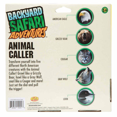 Backyard Safari Animal Caller Unisex Dress Up Accessory