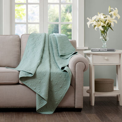 Madison Park Quebec Oversized Quilted Throw