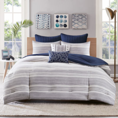 Miller Stripe 3-pc. Comforter Set