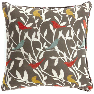 Birch Large Poly Decorative Square Throw Pillow