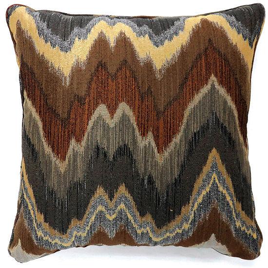 Doutzen Large Poly Decorative Square Throw Pillow