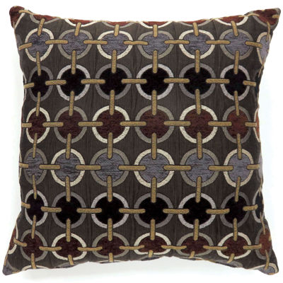 Maseille Large Poly Decorative Square Throw Pillow
