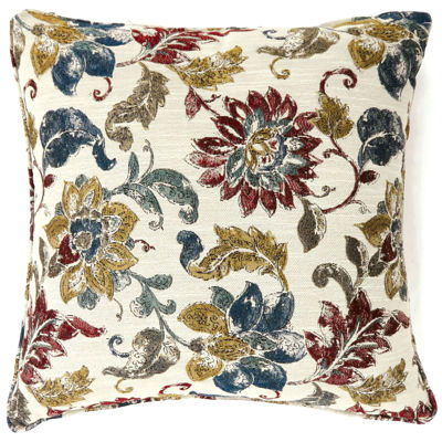 Theros Large Poly Decorative Square Throw Pillow
