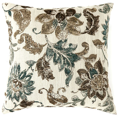 Laurel Large Poly Decorative Square Throw Pillow