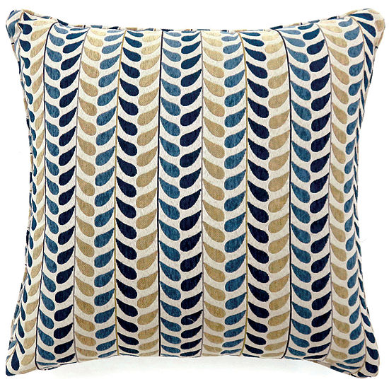 Clove Large Poly Decorative Square Throw Pillow