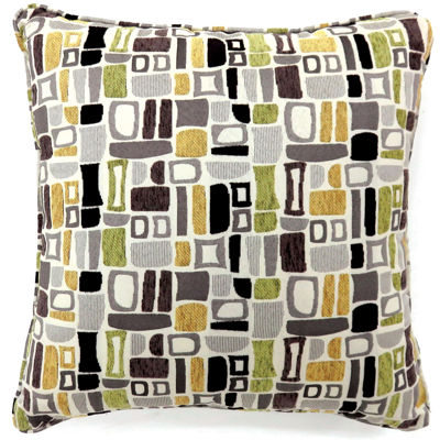 Yvonne Small Poly Decorative Square Throw Pillow