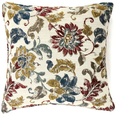 Theros Small Poly Decorative Square Throw Pillow