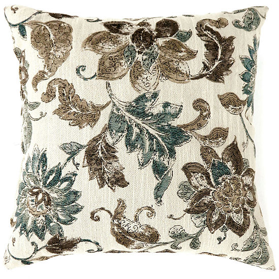 Laurel Small Poly Decorative Square Throw Pillow