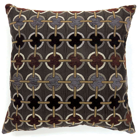 Maseille Small Poly Decorative Square Throw Pillow
