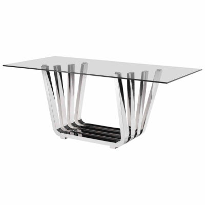 Fan Rectangular Dining Table
