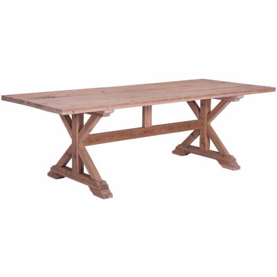 Zuo Modern Alliance Rectangular Dining Table