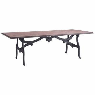 Zuo Modern Bellevue Rectangular Dining Table