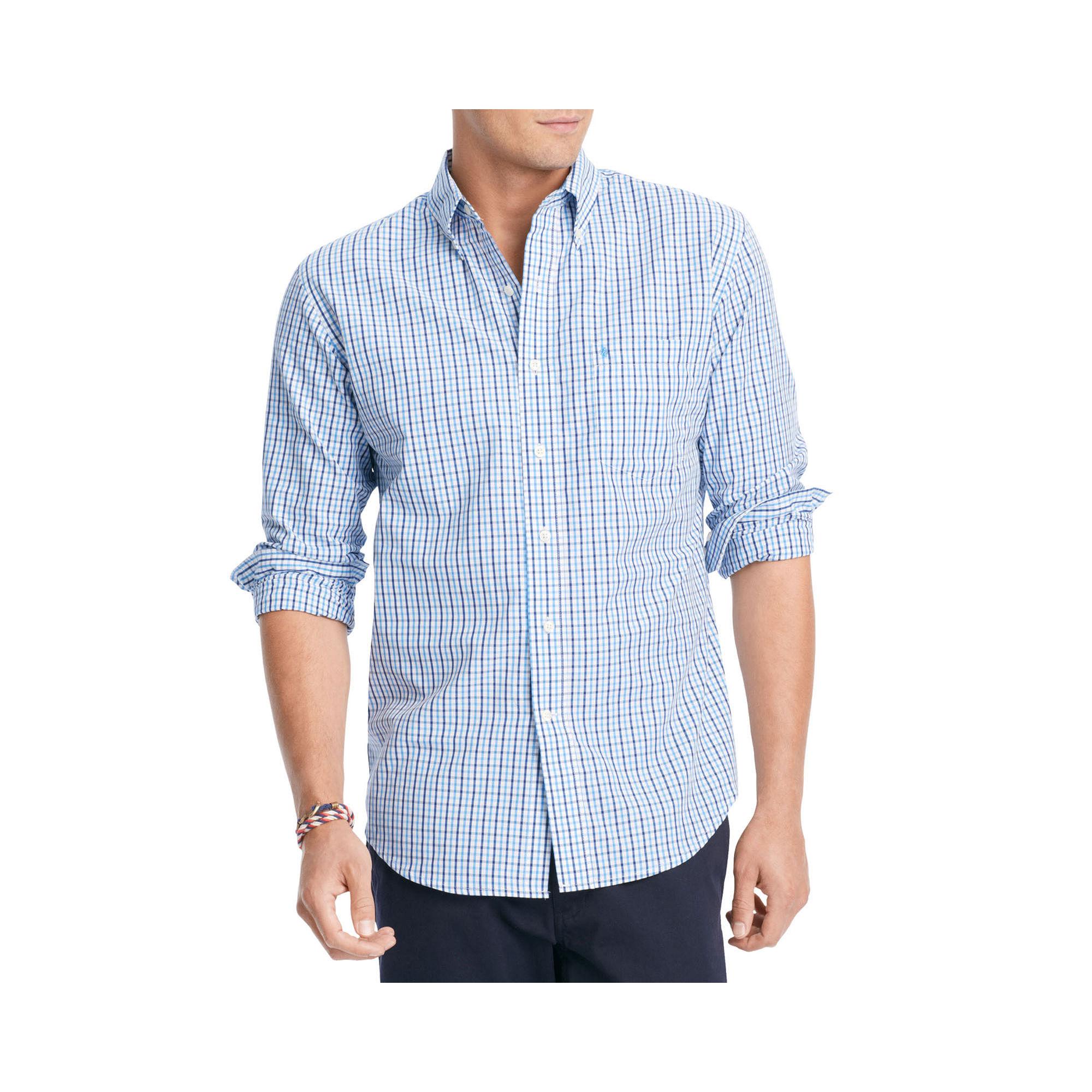 Upc 014056123842 Izod Mens Long Sleeve Essential Tattersall