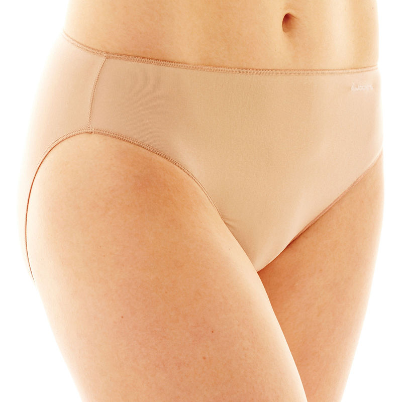 Jockey No Panty Line Promise Microfiber Bikini Panty plus size,  plus size fashion plus size appare