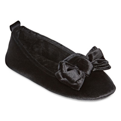 Mixit Velour Slip-On Slippers