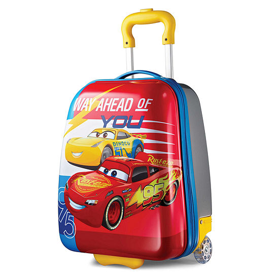 American Tourister Disney Cars 18 Inch Hardside Luggage