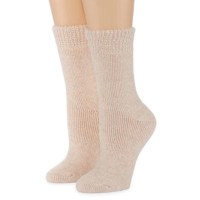 Mixit 2 Pair Thermal Feet Heater Boot Socks - Womens