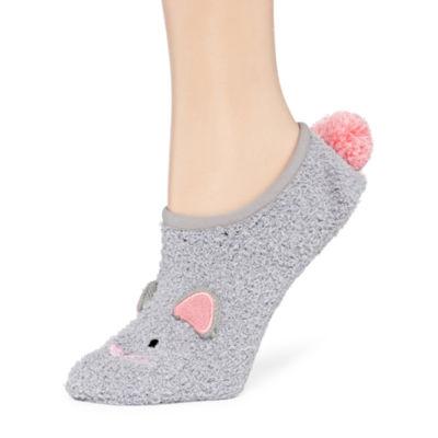 City Streets 1 Pair Slipper Socks - Womens