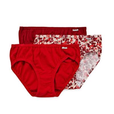 Jockey Elance® 3 Pair Bikini Panty
