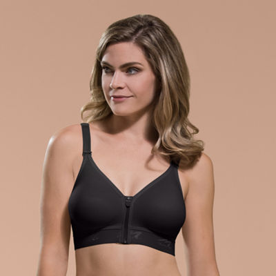 Comfortwear By Marena Front-Zip Wireless Recovery Bra