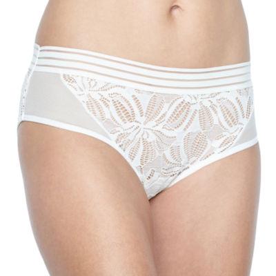 Ambrielle Floral Geo Modern Brief Bikini Panty