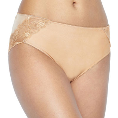 Ambrielle Tummy Smoothing Microfiber High Cut Panty