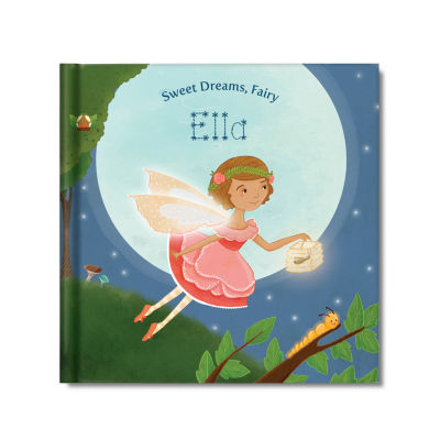 Sweet Dreams, Fairy Personalized Book