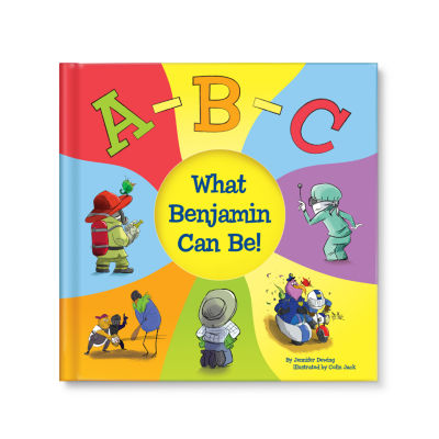 ABC What Can I Be! Personalized Book