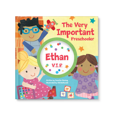My Very Important Preschooler (VIP) Personalized Book