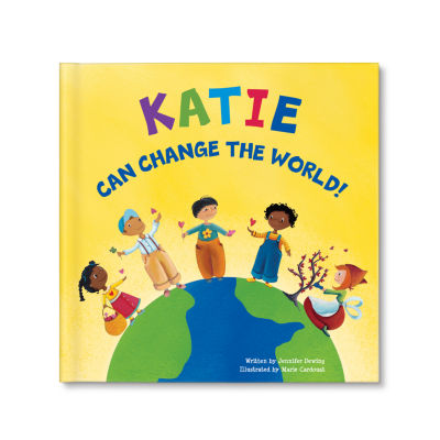 I Can Change the World Personalize Book