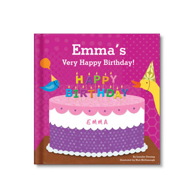 My Very Happy Birthday Personalized Book For Girls