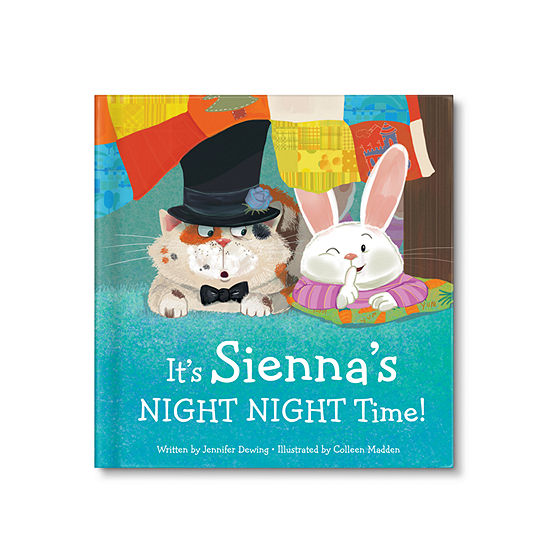 It's My Night Night Time! Personalized Board Book