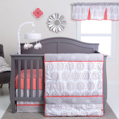 Trend Lab Valencia 3-pc. Medallion Crib Bedding Set