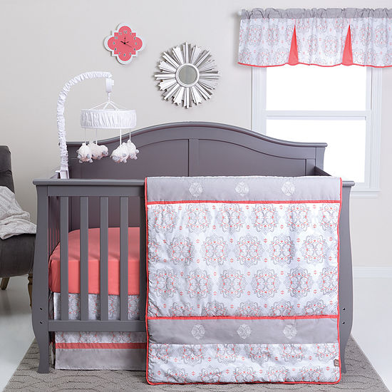 Trend Lab Valencia 3-pc. Medallion Crib Bedding Set