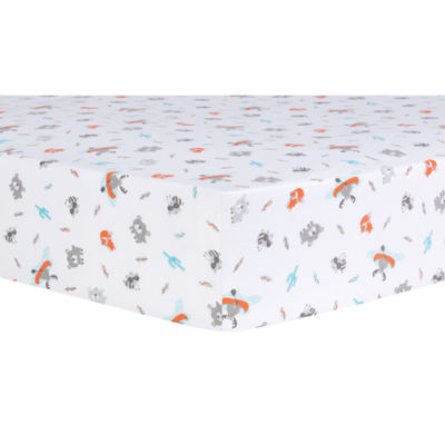 Trend Lab Moose Canoe 4-pc. Animals + Insects Crib Bedding Set