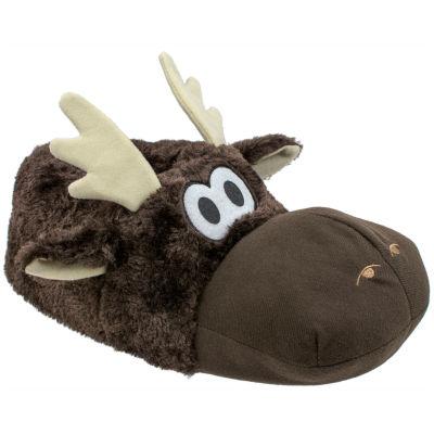 Men's Moose Slippers