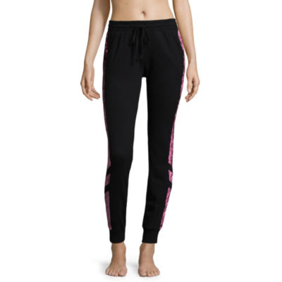 Flirtitude Velvet Jogger Pants-Juniors