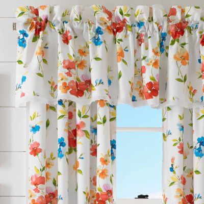 Queen Street Sunshine Tailored Valance